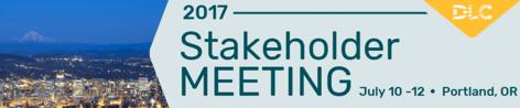 DLC Stakeholder Meeting July 2017
